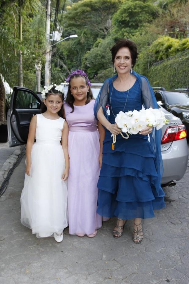 Casamento do Diretor Daniel Filho e Olivia Byington na Gavea - RJ (Foto: Felipe Panfili e Felipe Assumpcao/AgNews)