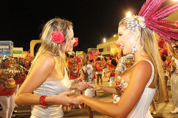 Adriana e Ellen Roche (Foto: Binho Dutra/Divulgação)