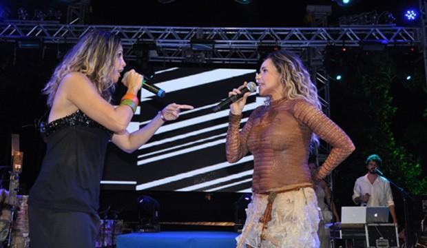 Daniela Mercury e Márcia Freire (Foto: Genilson Coutinho/Divulgação)
