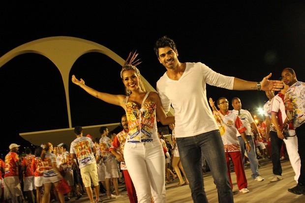 Rodrigão e Adriana (Foto: Binho Dutra/Divulgação)