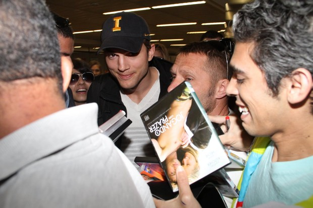 Ashton Kutcher (Foto: Orlando Oliveira/Agnews)
