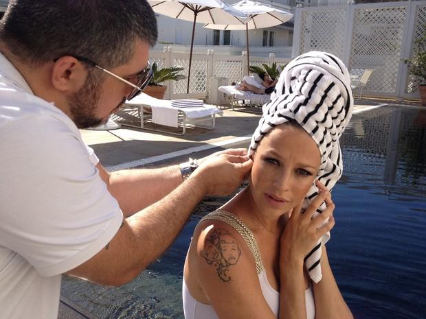 Luana Piovani faz ensaio para seu site (Foto: Divulgação)
