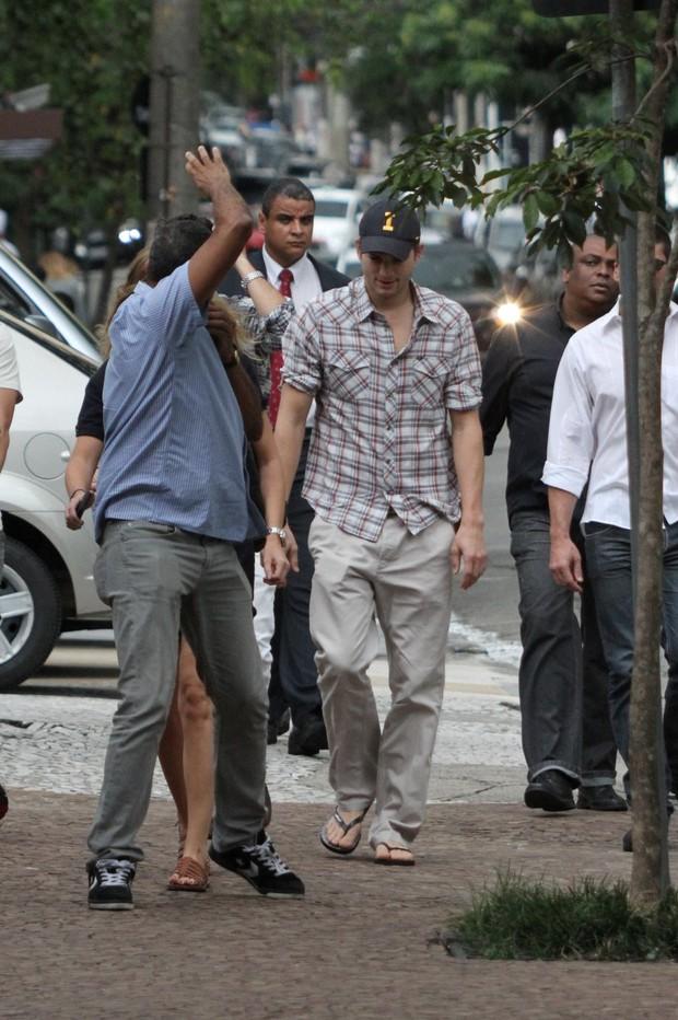 Ashton Kutcher (Foto: Dilson Silva / AgNews)