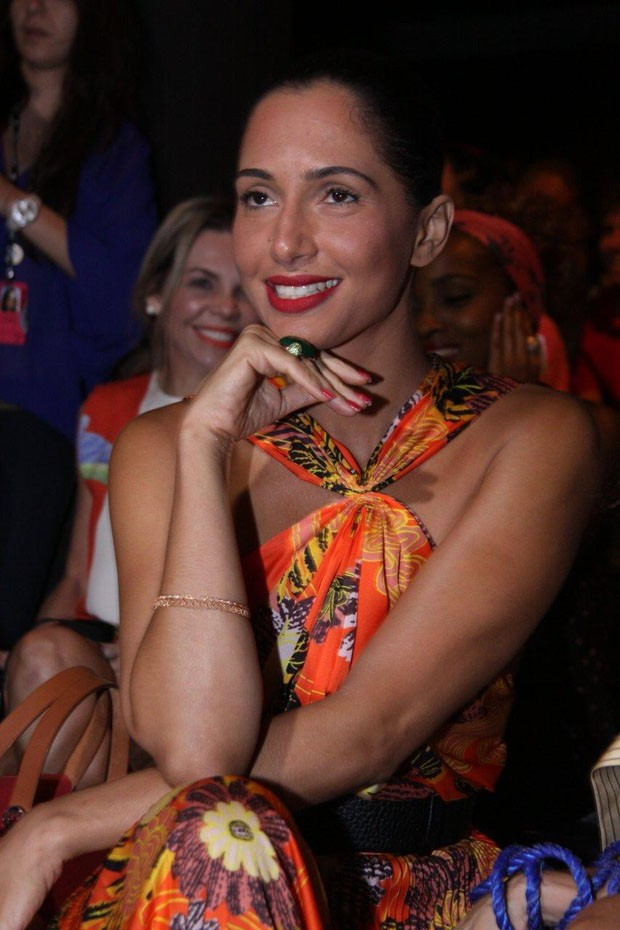 Camila Pitanga (Foto: Alex Palarea/ AgNews)