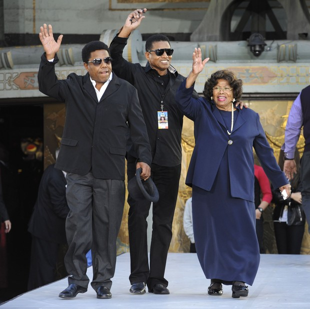 Família Jackson (Foto: Agência/Reuters)