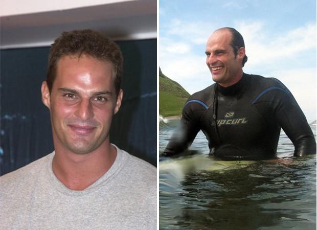Bruno Saladini (antes e depois) (Foto: Divulgação - Marcos Serra Lima)
