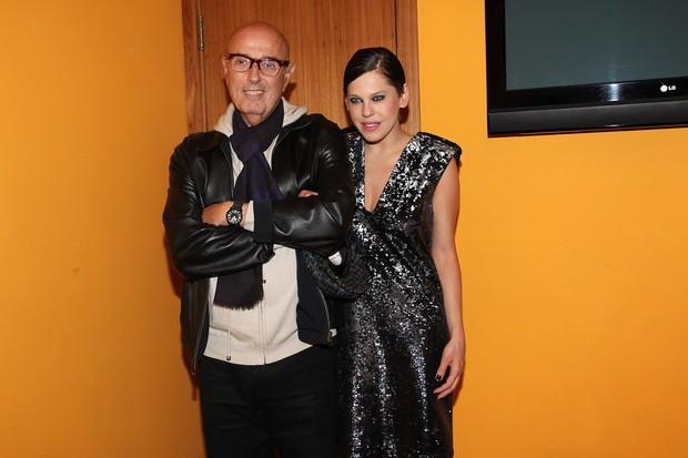 Bárbara Paz e Hector Babenco (Foto: Manuela Scarpa/Photo Rio News)