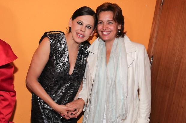 Bárbara Paz e Suzy Rego (Foto: Manuela Scarpa/Photo Rio News)