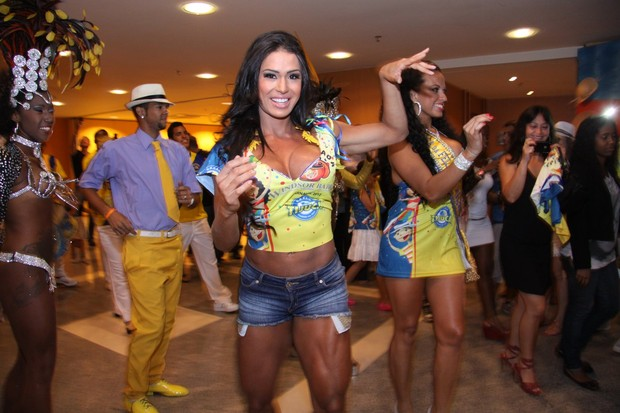 Gracyanne Barbosa (Foto: Alex Palarea/AgNews)
