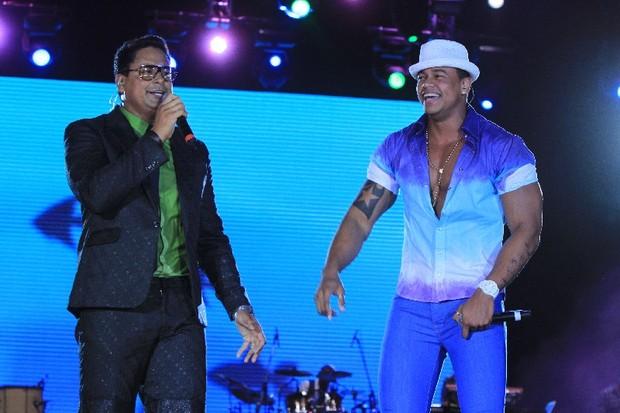 Xanddy e Léo Santana (Foto: Fred Pontes/ Divulgação)