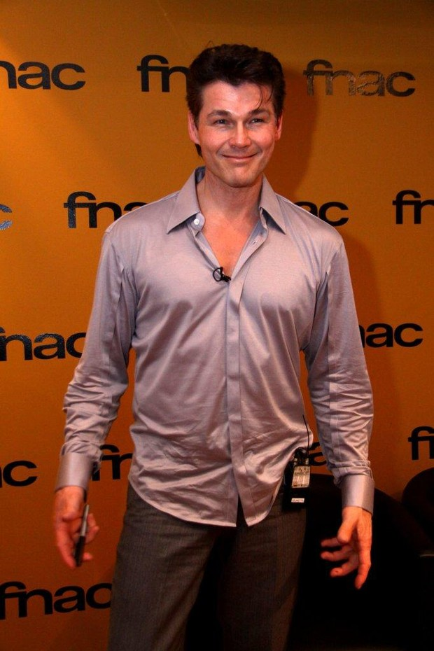 Morten Harket, vocalista do A-HA (Foto: Ag News/ Alex Palarea)