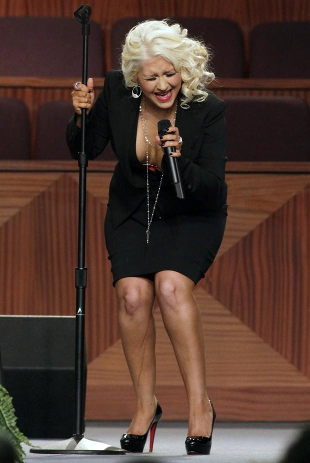 Christina Aguilera (Foto: Agência Reuters)