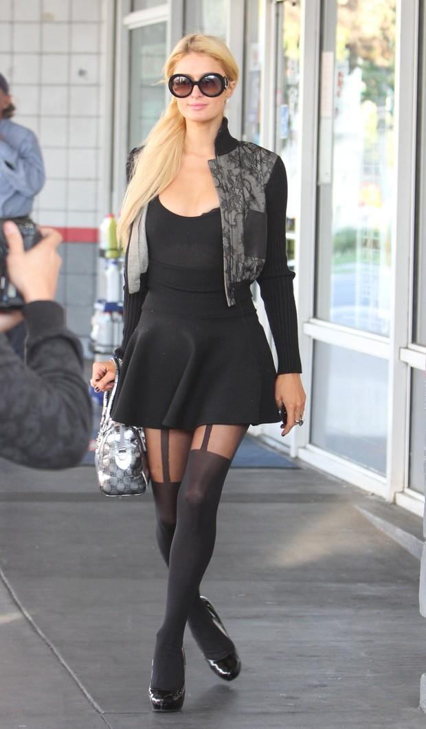 Paris Hilton em Los Angeles, nos Estados Unidos - X17 (Foto: X17/ Agência)