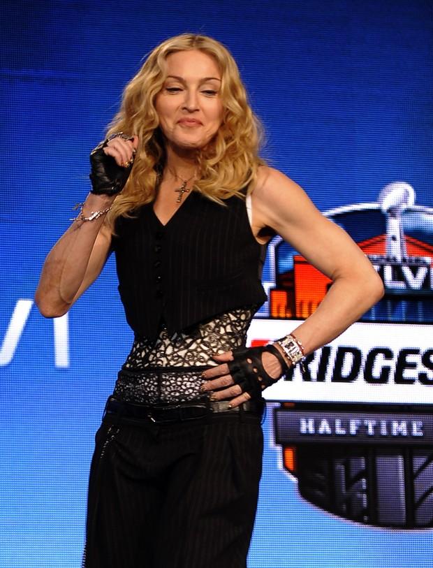 Madonna (Foto: Agência/AFP)