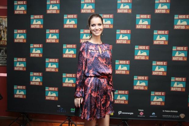 Nathalia Dill em pré-estreia de filme no Rio (Foto: Graça Paes/ Honopix)