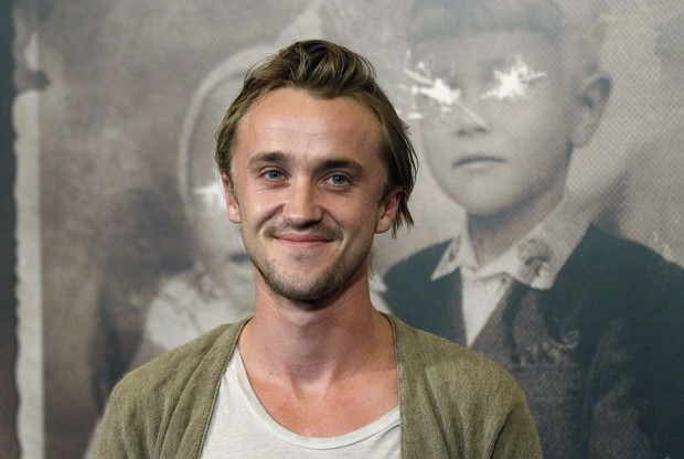 Tom Felton na première do filme 'The Woman in Black' em Los Angeles, nos Estados Unidos (Foto: Reuters/ Agência)