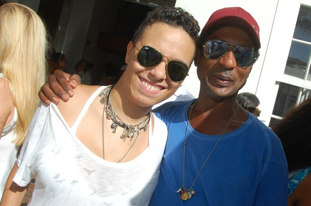 Maria Gadú e Luiz Miranda em Salvador, na Bahia (Foto: André Carvalho/ Ag. Haack)