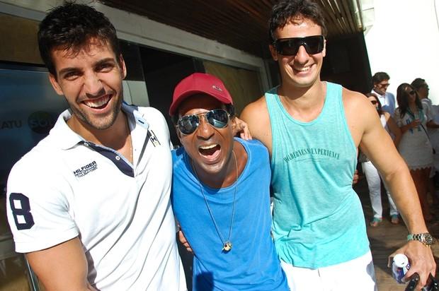 Diego Pombo, Luiz Miranda e Rafael Minam em Salvador, na Bahia (Foto: André Carvalho/ Ag. Haack)