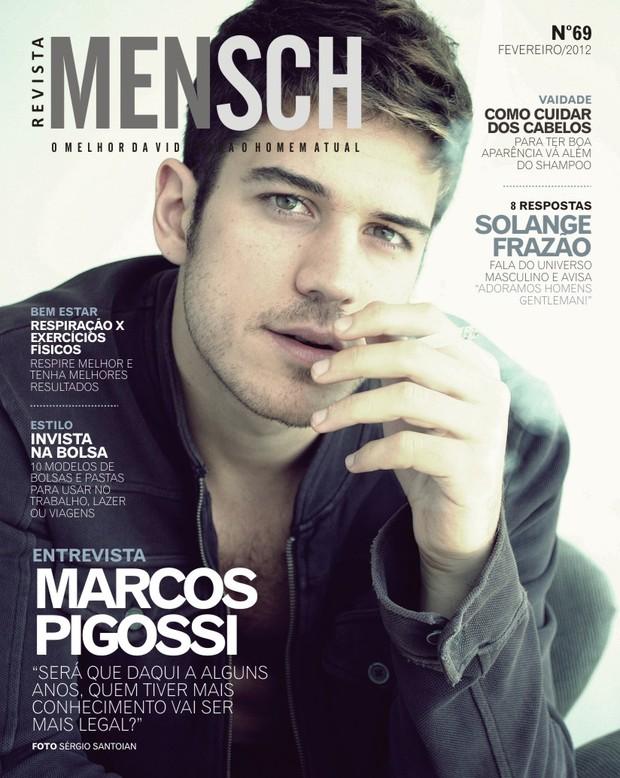Ator De  Fina Estampa  Est   Na Capa Desta Semana Da Revista  Mensch