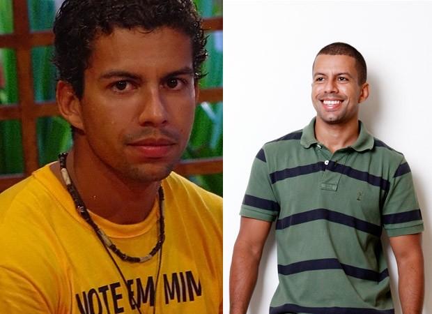 BBB 10 anos - Thiago BBB4 (antes e depois) (Foto: Divulgação - Marcos Serra Lima)