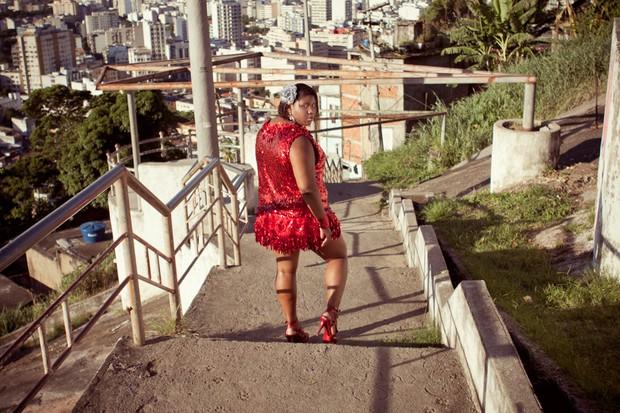 Vânia Flor posa para o EGO (Foto: Jessica Monstans / EGO)