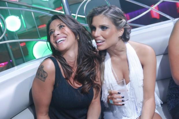 Lizie Benitz e Flávia Viana (Foto: Saulo Brandão / Divulgação)