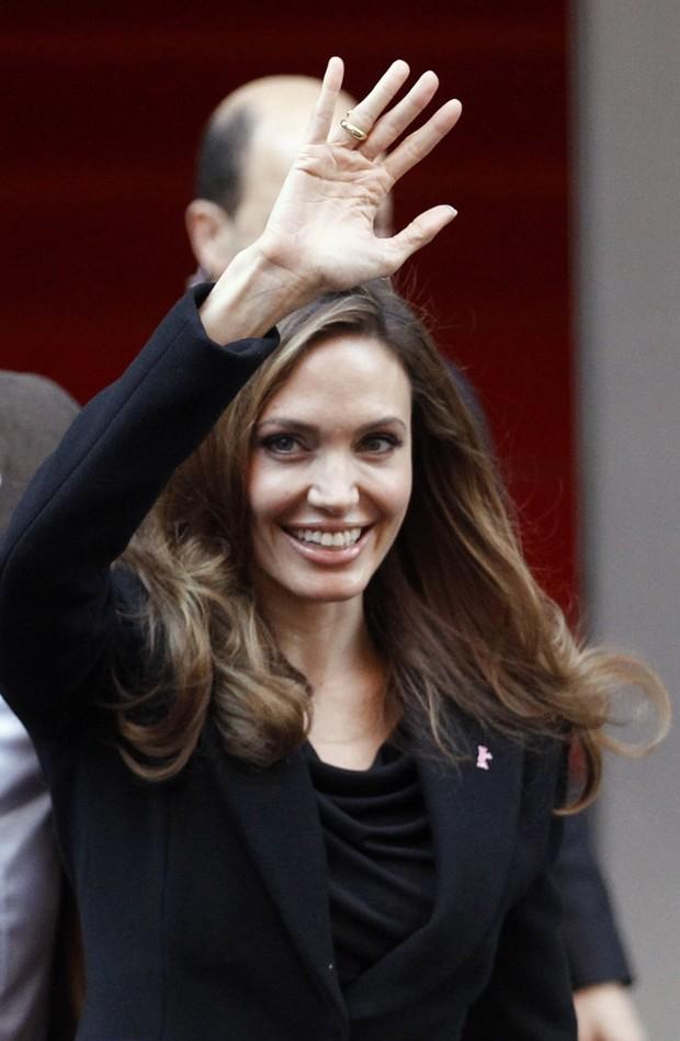 Angelina Jolie lança filme em Berlim (Foto: Agência Reuters)