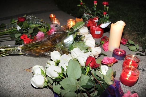 Homenagem Whitney Houston (Foto: AFP)
