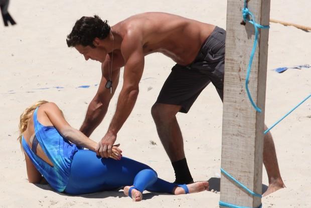 Carolina Dieckmann e Carlos Machado (Foto: Fabio Martins / AgNews)