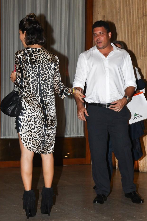 Ronaldo e Bia (Foto: Manuela Scarpa/Photorio News)