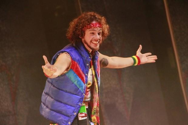 Substituto de Thiago Fragoso no musical Xanadu (Foto: Isac Luz / EGO)