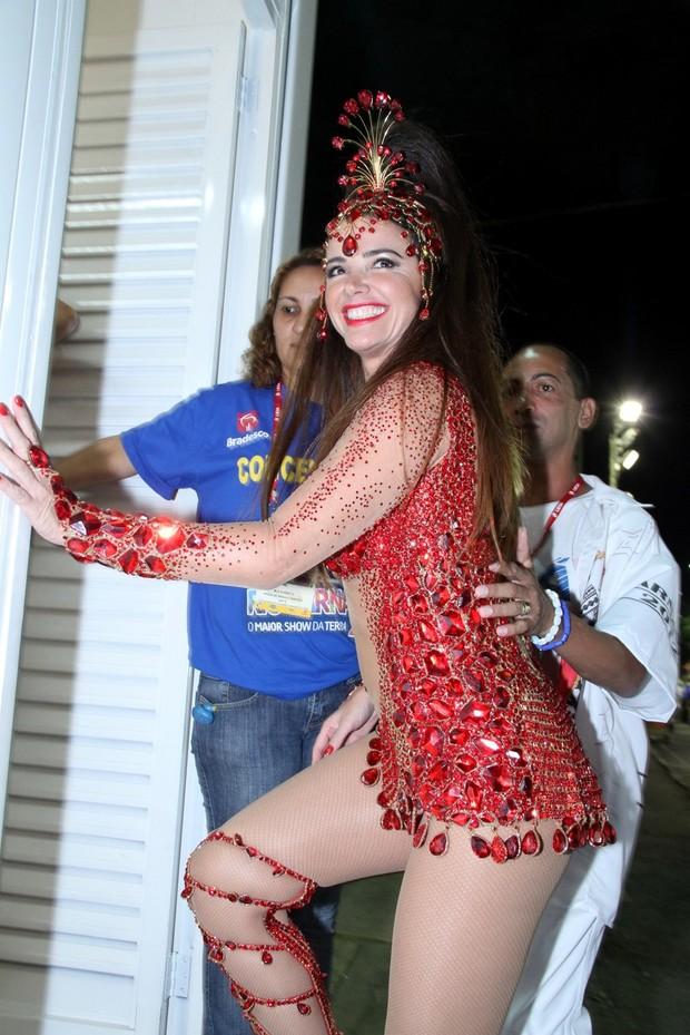 Luma de Oliveira (Foto: Roberto Filho/AgNews)