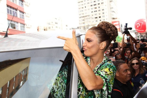 Ivete Sangalo (Foto: Wallace Barbosa e Dilson Silva / AgNews)