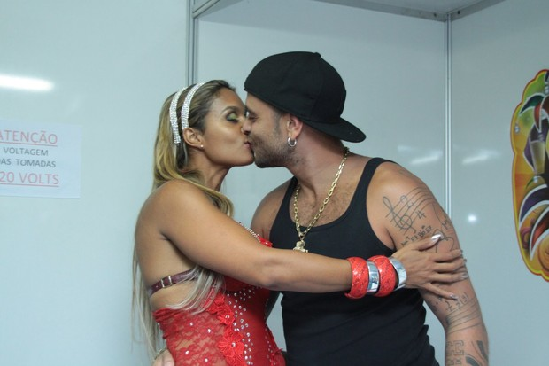 Diogo Nogueira e a mulher (Foto: Cleomir Tavares/Divulgação)