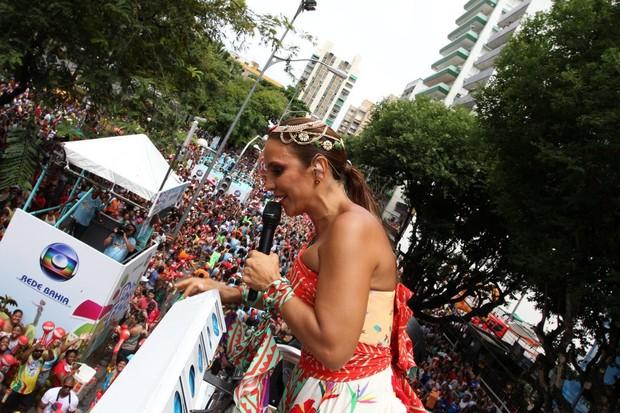Ivete Sangalo (Foto: Wallace Barbosa, Daniel Delmiro e Adilson Lucas/AgNews)