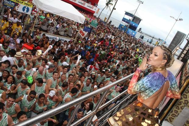 Claudia Leitte (Foto: Dilson Silva e Wesley Costa/AgNews)
