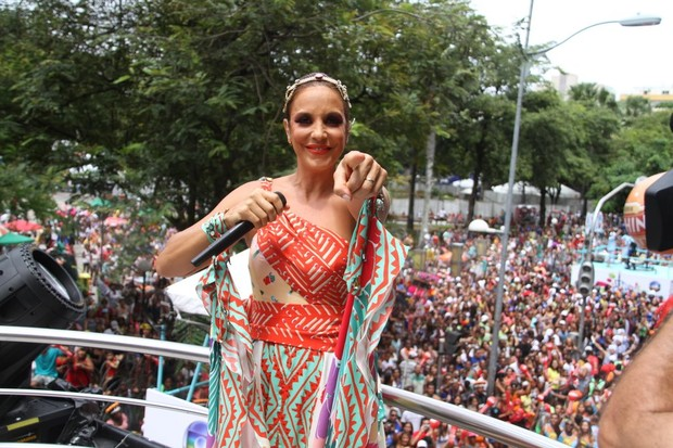 Ivete Sangalo (Foto: Daniel Delmiro e Adilson Lucas/AgNews)