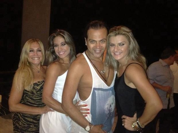 Susana Vieira, Mayra Cardi e Mirella Santos (Foto: Reprodução/Twitter)