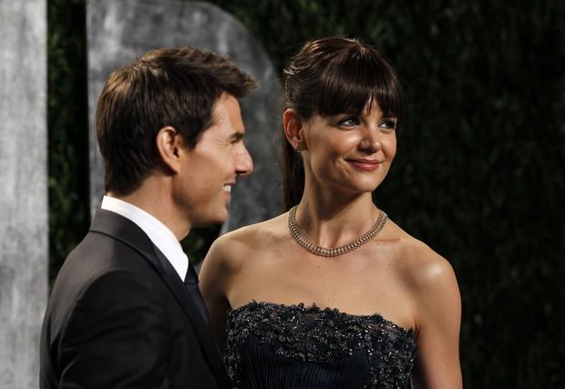 Tom Cruise e Katie Holmes (Foto: Reuters/Agência)