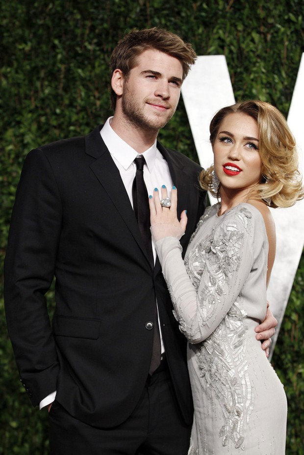 Miley Cyrus e Chris Hemsworth (Foto: Reuters/Agência)
