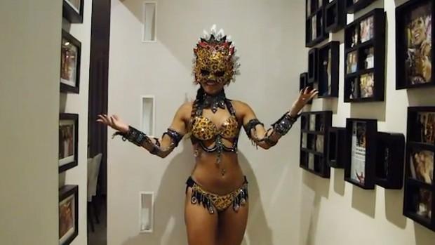 Renata Santos (Foto: Reprodução)