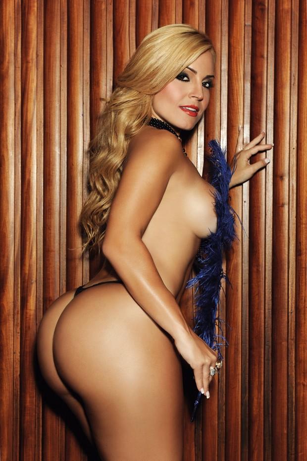 Fernanda Abraão (Foto: Divulgação/Revista Sexy)
