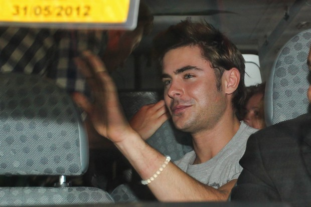 Zac Efron em SP (Foto: Manuela Scarpa/Photorio News)