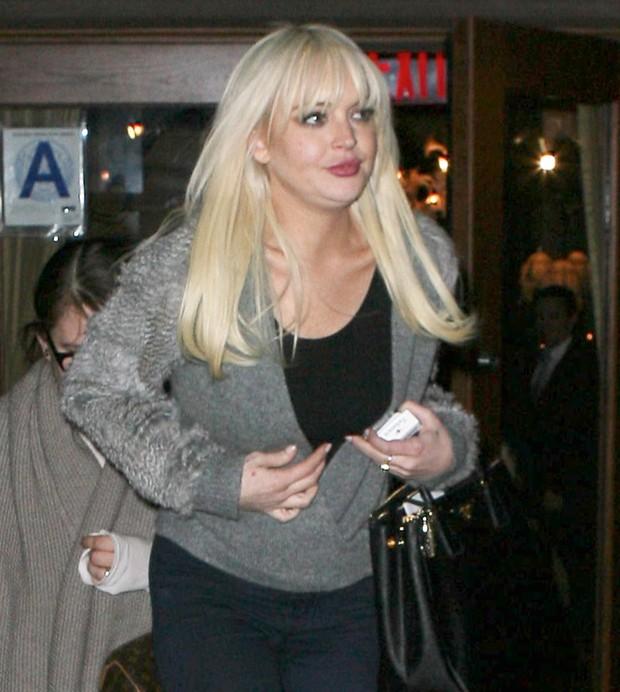 Lindsay Lohan em Nova York, nos Estados Unidos - X17 (Foto: X17/ Agência)
