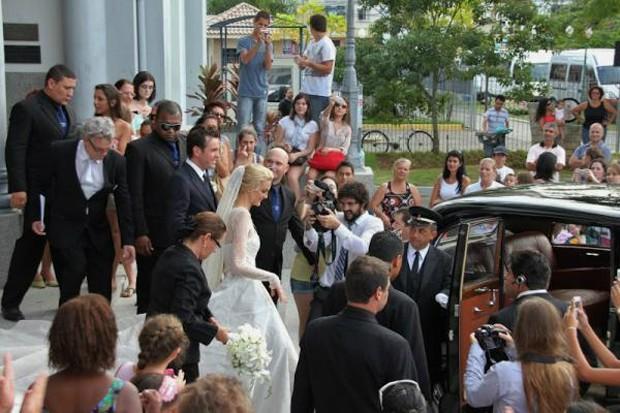 Casamento de Carol Trentini (Foto: Twitter / Reprodução)