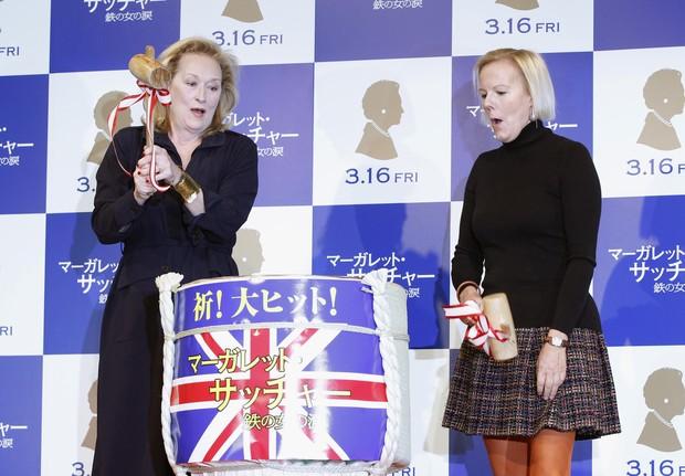 Meryl Streep em Tóquio, no Japão (Foto: Reuters/ Agência)