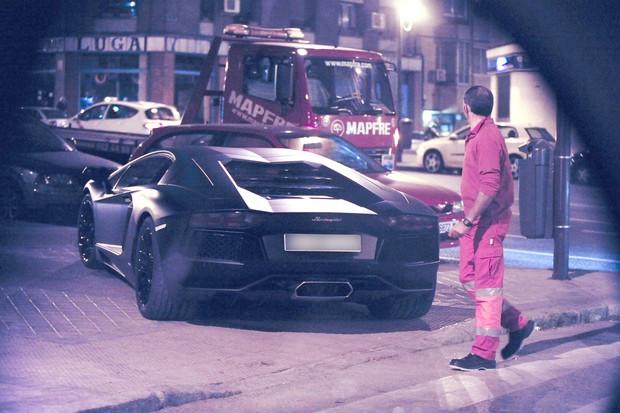 Carro de Cristiano Ronaldo (Foto: Grosby)