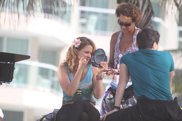 Leandra Leal e Ricardo Tozzi (Foto: Dilson Silva / Ag News)