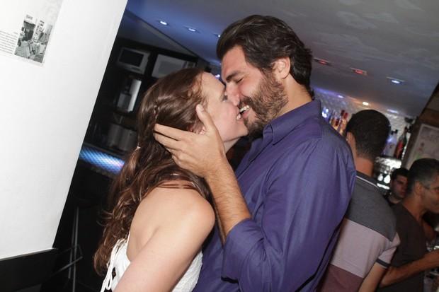 Thiago Lacerda e Vanessa (Foto: Raphael Mesquita/PhotoRioNews)