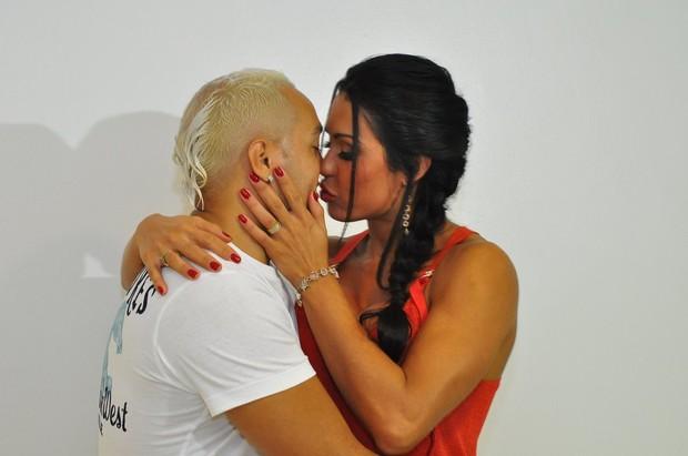 Belo e Gracyanne (Foto: Roberto Teixeira/ EGO)